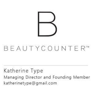 Beautycounter – Gold Coast Connect Beautycounter Logo