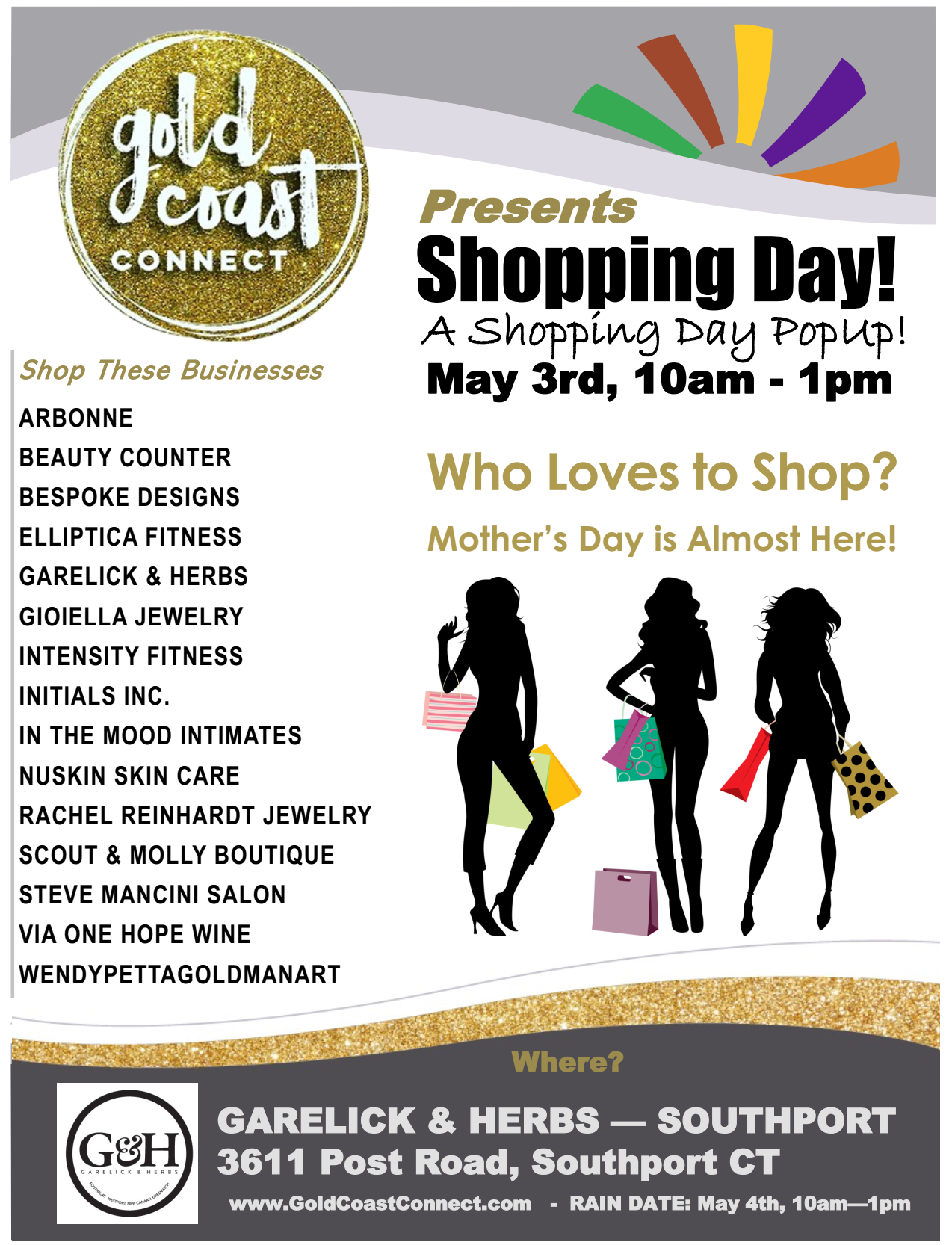 Shopping Day - June 3rd - Gold Coast Connect